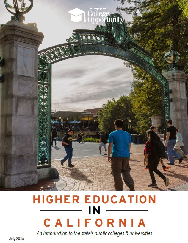 July 2016|Higher Education in California: An Introduction to