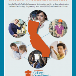 June 2016|<em> Needed: Sy(STEM)ic Response: How California's Public Colleges and Universities are Key to Strengthening the Science, Technology, Engineering and Math (STEM) and Health Workforce </em>