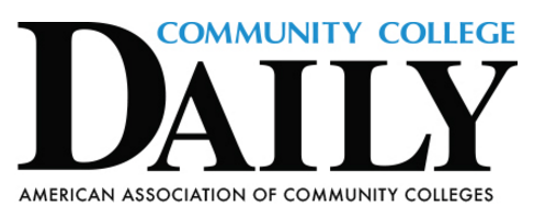 Community College Daily white logo