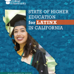The State of Higher Education for Latinx in California