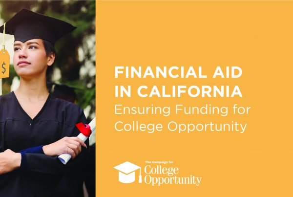 Publication: Financial Aid in California