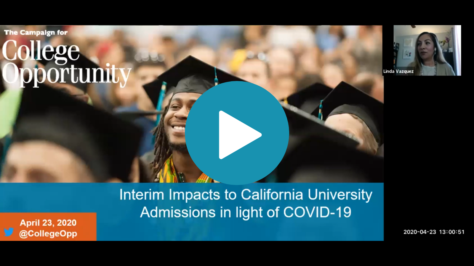 Interim Impacts to CA University Admissions