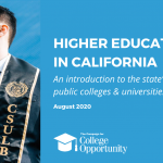 Higher Education in California: An Introduction to the State's Public Colleges & Universities