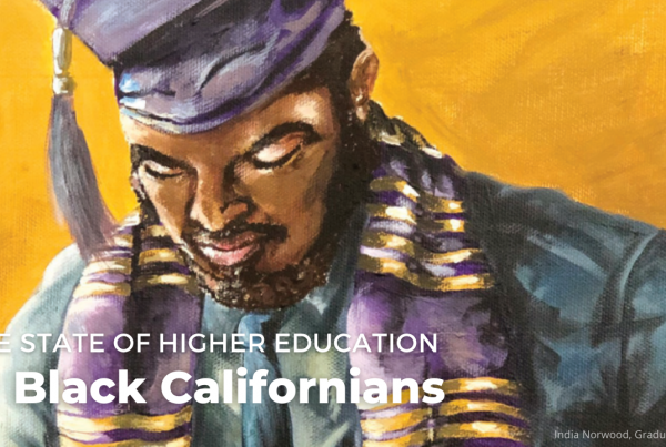 State of Higher Ed for Black Californians Banner